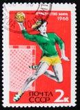 Παγκόσμιο πρωτάθλημα χάντμπολ γυναικών το 1968, circa 1968 Στοκ Φωτογραφίες