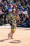 Παγκόσμιο πρωτάθλημα χορού στεφανών αμερικανών ιθαγενών Στοκ εικόνες με δικαίωμα ελεύθερης χρήσης