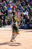 Παγκόσμιο πρωτάθλημα χορού στεφανών αμερικανών ιθαγενών Στοκ Εικόνες