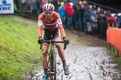 Παγκόσμιο πρωτάθλημα UCI Cyclocross - heusden-Zolder, Βέλγιο στοκ φωτογραφία με δικαίωμα ελεύθερης χρήσης