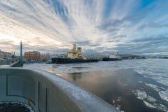 παγοθραύστες Στοκ εικόνες με δικαίωμα ελεύθερης χρήσης