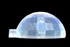 παγοκαλύβα πάγου Στοκ Φωτογραφία