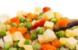 παγωμένα λαχανικά σούπας Στοκ εικόνα με δικαίωμα ελεύθερης χρήσης