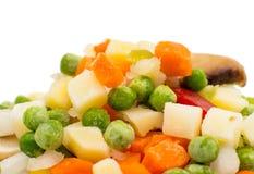 παγωμένα λαχανικά σούπας Στοκ Εικόνες