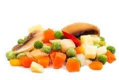 παγωμένα λαχανικά σούπας Στοκ φωτογραφία με δικαίωμα ελεύθερης χρήσης