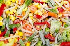 παγωμένα λαχανικά Στοκ Εικόνα