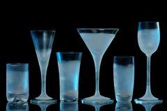 παγωμένα γυαλιά Στοκ Εικόνες