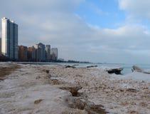 παγωμένα κύματα Στοκ εικόνα με δικαίωμα ελεύθερης χρήσης
