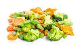 Παγωμένα λαχανικά οργανικά στοκ εικόνα
