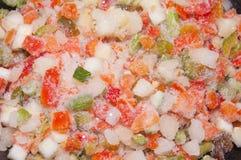 παγωμένα λαχανικά Στοκ φωτογραφία με δικαίωμα ελεύθερης χρήσης