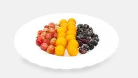 Παγωμένα φρούτα για το ποτό φρούτων Στοκ Εικόνες