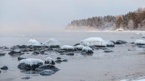 παγωμένες πέτρες Στοκ εικόνες με δικαίωμα ελεύθερης χρήσης