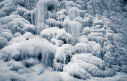 Παγωμένες πτώσεις Στοκ φωτογραφία με δικαίωμα ελεύθερης χρήσης