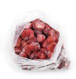 Παγωμένες φράουλες Στοκ φωτογραφία με δικαίωμα ελεύθερης χρήσης