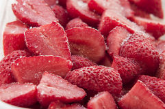 παγωμένες φράουλες Στοκ εικόνες με δικαίωμα ελεύθερης χρήσης