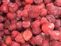 παγωμένες φράουλες Στοκ φωτογραφίες με δικαίωμα ελεύθερης χρήσης