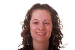 παγωμένες brunette χαμογελώντα&si Στοκ φωτογραφίες με δικαίωμα ελεύθερης χρήσης