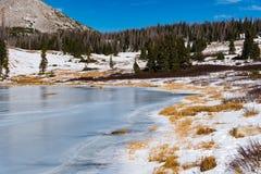 Παγωμένη λίμνη Bellamy Στοκ φωτογραφία με δικαίωμα ελεύθερης χρήσης