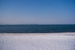 Παγωμένη ακτή Στοκ φωτογραφίες με δικαίωμα ελεύθερης χρήσης