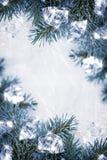 Παγωμένη ανασκόπηση Στοκ εικόνες με δικαίωμα ελεύθερης χρήσης