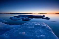 παγωμένη θάλασσα στοκ εικόνες