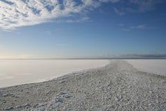 παγωμένη θάλασσα Στοκ εικόνες με δικαίωμα ελεύθερης χρήσης