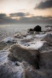 παγωμένη θάλασσα Στοκ Φωτογραφίες