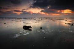 παγωμένη θάλασσα Στοκ φωτογραφία με δικαίωμα ελεύθερης χρήσης