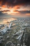 παγωμένη θάλασσα Στοκ φωτογραφίες με δικαίωμα ελεύθερης χρήσης