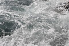 Παγωμένη κίνηση του νερού Στοκ Εικόνες