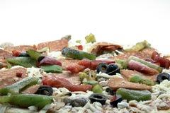 παγωμένη πίτσα Στοκ Εικόνες