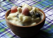 Παγωμένη σαλάτα φρούτων Στοκ Εικόνες