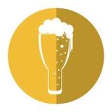 Παγωμένη σκιά εορτασμού μπύρας γυαλιού ημέρας Αγίου Πάτρικ Στοκ εικόνες με δικαίωμα ελεύθερης χρήσης