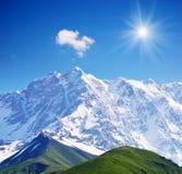Παγωμένη σύνοδος κορυφής στοκ εικόνες