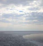 παγωμένη baikal λίμνη Στοκ Εικόνα