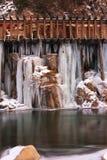 Παγωμένοι αγωγοί ύδατος νερού Στοκ φωτογραφία με δικαίωμα ελεύθερης χρήσης
