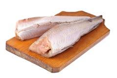 Παγωμένοι μπακαλιάροι ψαριών Στοκ Εικόνες