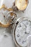 παγωμένος έννοια χρόνος Στοκ Εικόνες