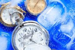 παγωμένος έννοια χρόνος Στοκ φωτογραφίες με δικαίωμα ελεύθερης χρήσης