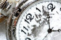 παγωμένος έννοια χρόνος Στοκ εικόνα με δικαίωμα ελεύθερης χρήσης