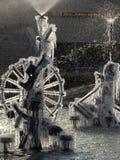 παγωμένος καλά Στοκ εικόνα με δικαίωμα ελεύθερης χρήσης