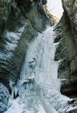 παγωμένος καταρράκτης Στοκ Εικόνες