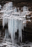 παγωμένος καταρράκτης Στοκ Φωτογραφία