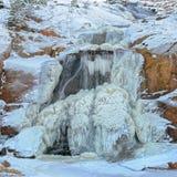 παγωμένος καταρράκτης Στοκ εικόνα με δικαίωμα ελεύθερης χρήσης