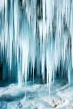 Παγωμένος καταρράκτης Pericnik Στοκ εικόνες με δικαίωμα ελεύθερης χρήσης