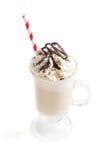 Παγωμένος καφές με την κτυπημένη κρέμα Στοκ Φωτογραφίες