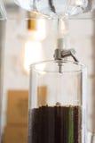 Παγωμένος καφές σταλαγματιάς Στοκ φωτογραφία με δικαίωμα ελεύθερης χρήσης