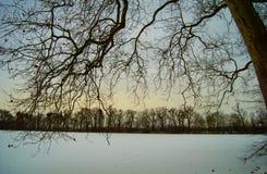 Παγωμένος κόσμος, δύναμη της φύσης Στοκ εικόνες με δικαίωμα ελεύθερης χρήσης
