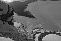 Παγωμένος πάγος Στοκ Εικόνα