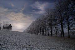 παγωμένος χρόνος Στοκ εικόνα με δικαίωμα ελεύθερης χρήσης